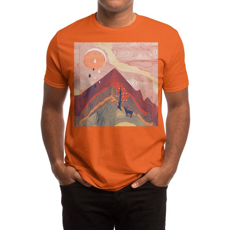 Ripple in the Sand Men's T-Shirt by Threadless Artist Shop
