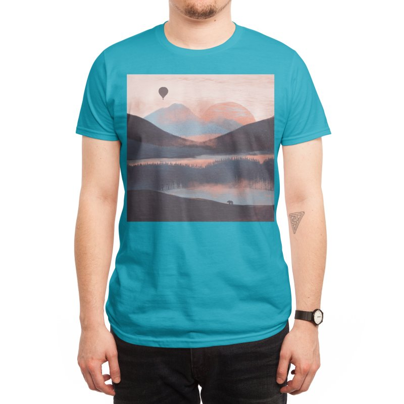 Adrift in the Mountains... Men's T-Shirt by Threadless Artist Shop