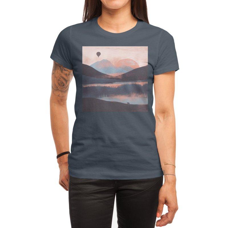 Adrift in the Mountains... Women's T-Shirt by Threadless Artist Shop