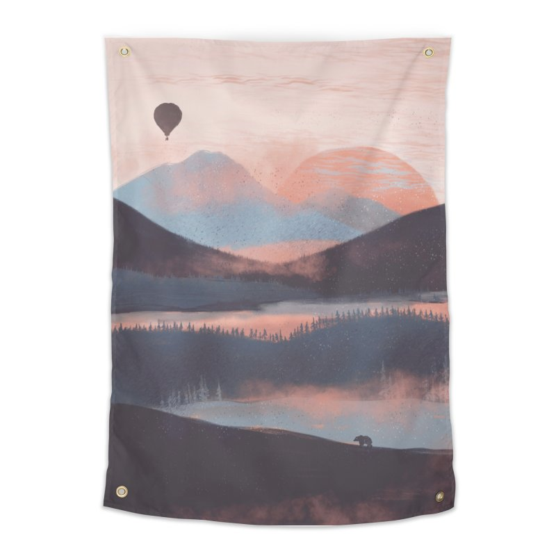 Adrift in the Mountains... Home Tapestry by Threadless Artist Shop