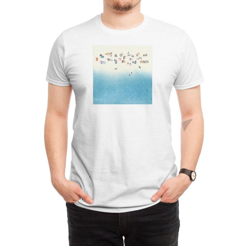The Beach Men's T-Shirt by Threadless Artist Shop