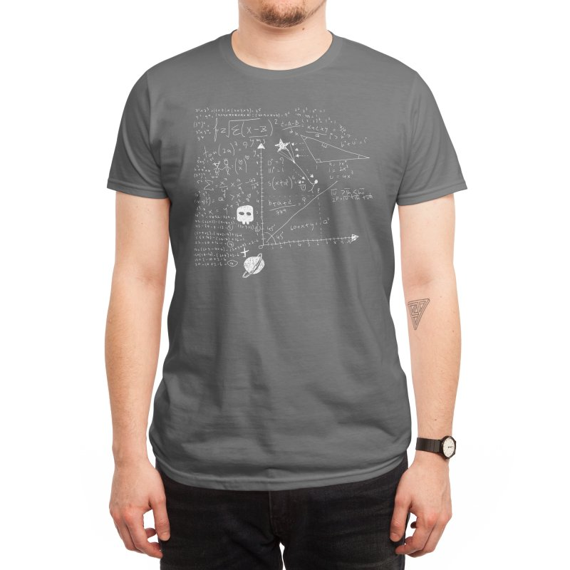 Maths Men's T-Shirt by Threadless Artist Shop