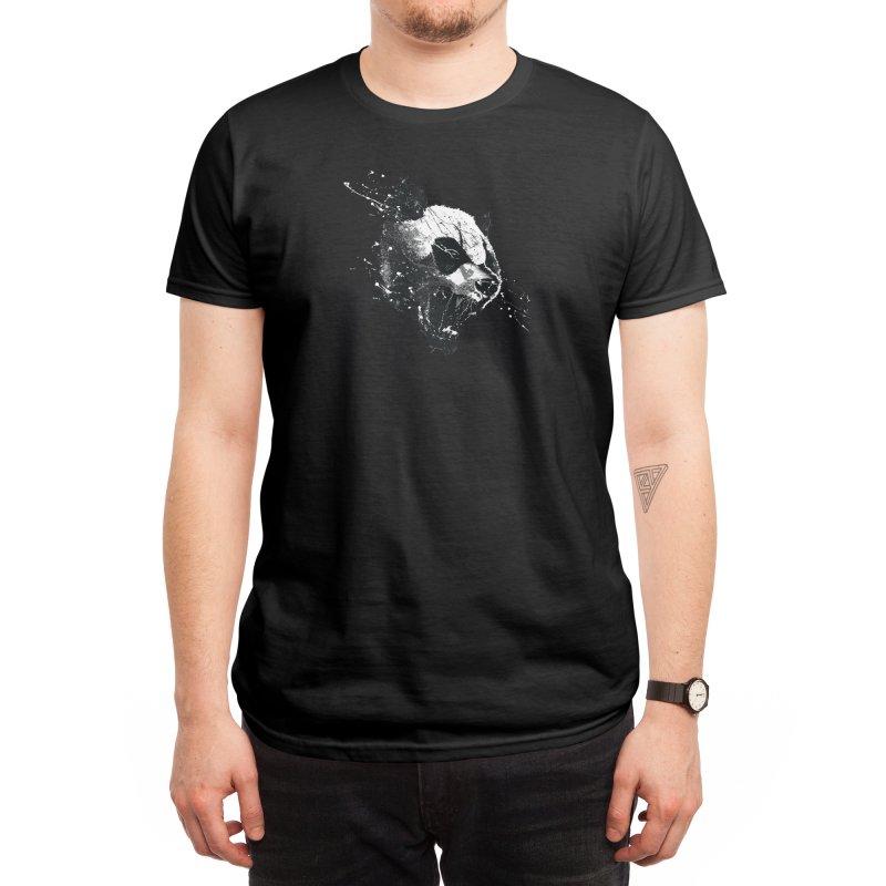 When Pandas Attack Men's T-Shirt by Threadless Artist Shop