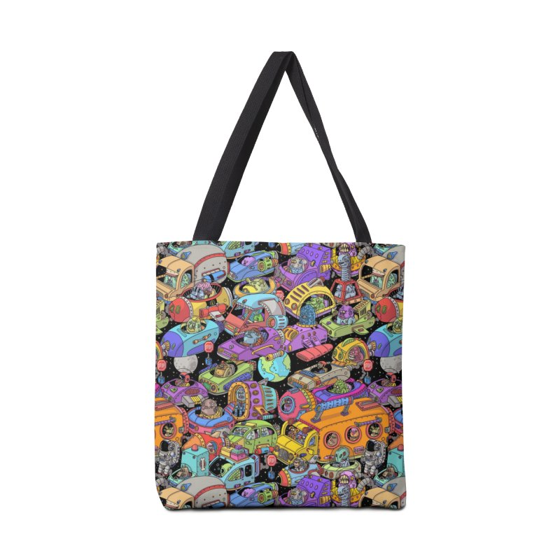 Space Traffic Accessories Bag by Threadless Artist Shop