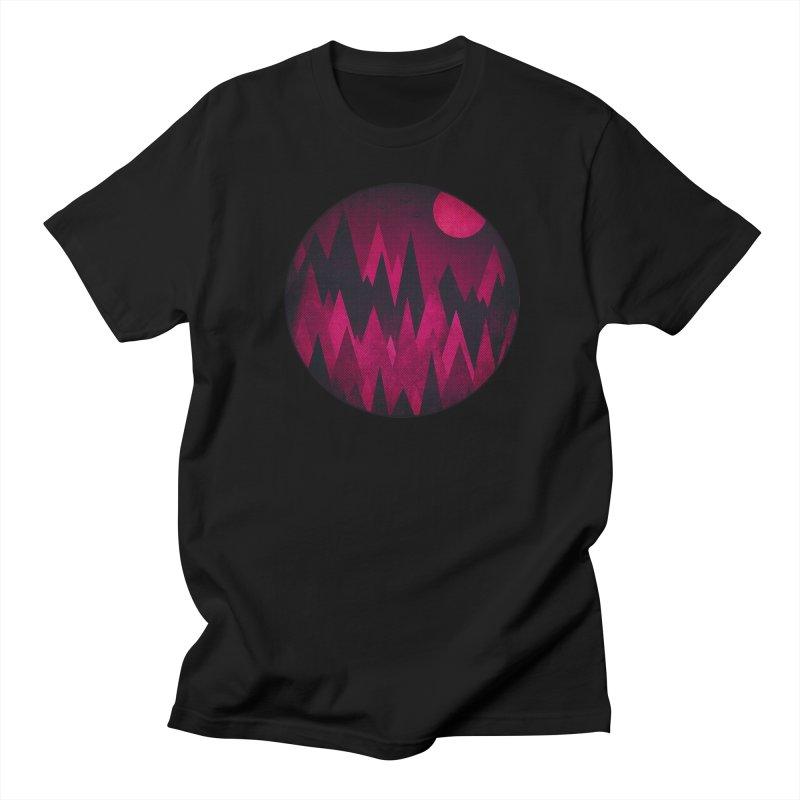 Dark Mystery Peak Wood's Women's T-Shirt by Threadless Artist Shop