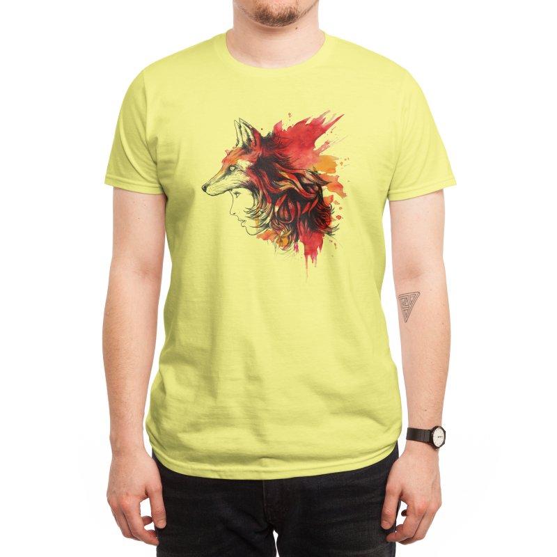 Lady Fox Men's T-Shirt by Threadless Artist Shop