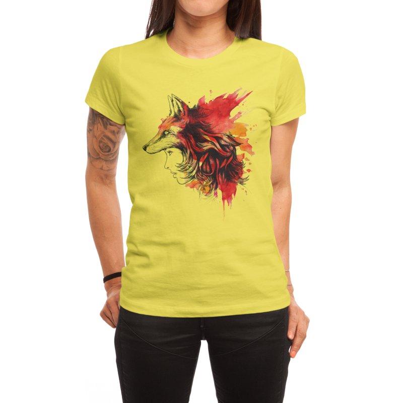 Lady Fox Women's T-Shirt by Threadless Artist Shop