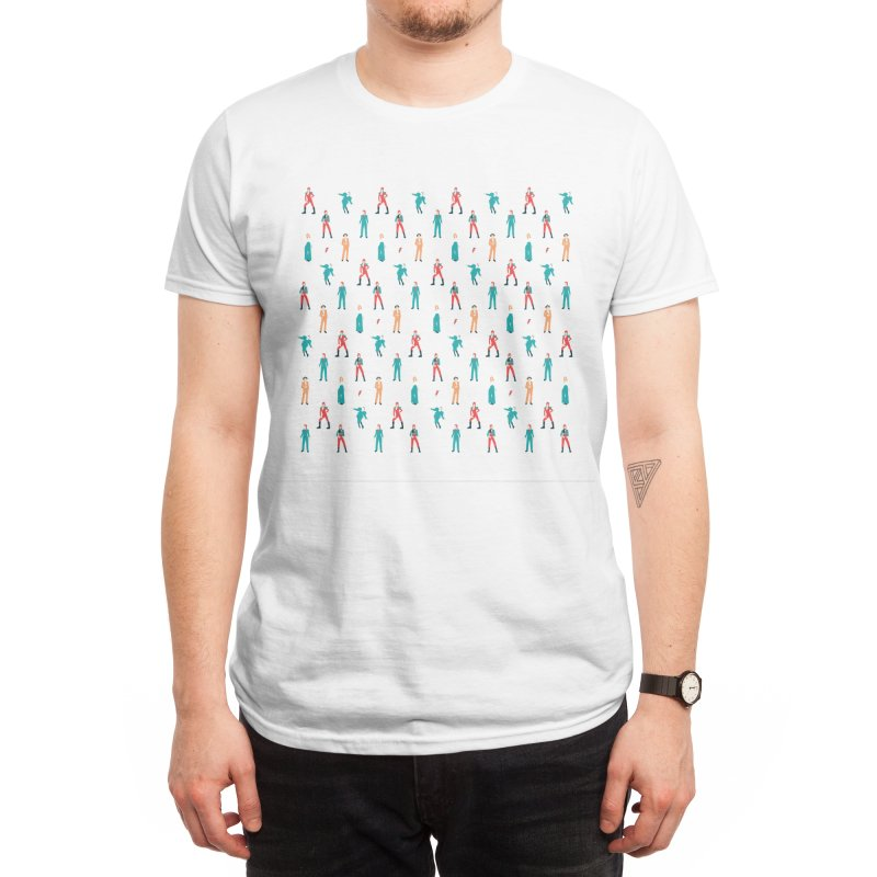 The Land of Bowie Men's T-Shirt by Threadless Artist Shop