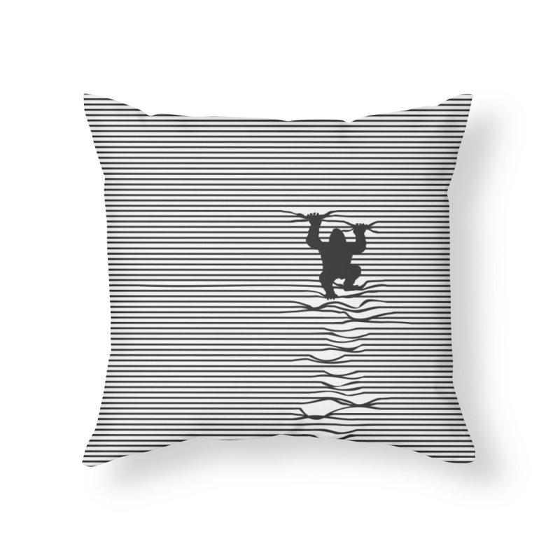 Kongalism Home Throw Pillow by Threadless Artist Shop
