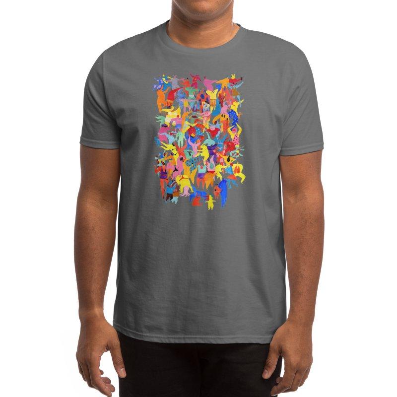 I feel like dancing :) Men's T-Shirt by Threadless Artist Shop
