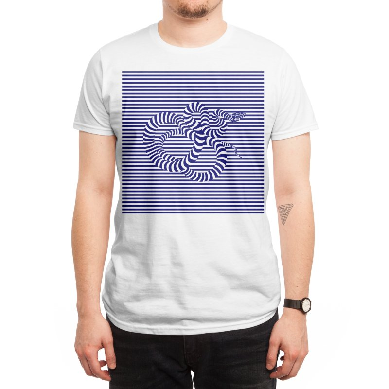 The Sailor and the Sea Serpent Men's T-Shirt by Threadless Artist Shop