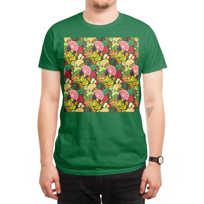 Fruit Print Men's T-Shirt by Threadless Artist Shop