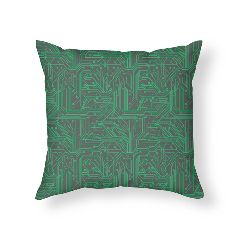 Energy Home Throw Pillow by Threadless Artist Shop