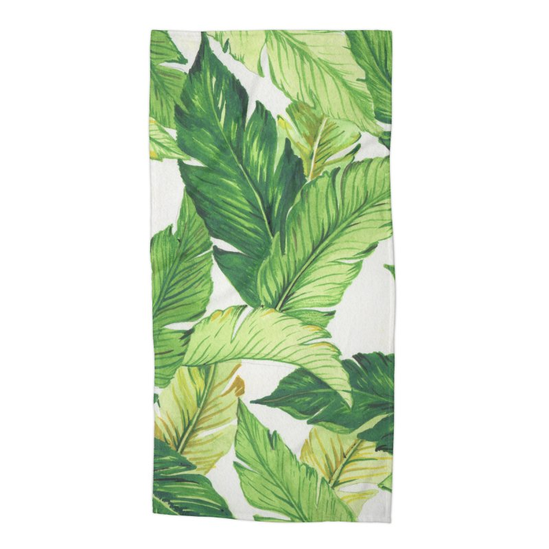 banana jungle Accessories Beach Towel by Threadless Artist Shop