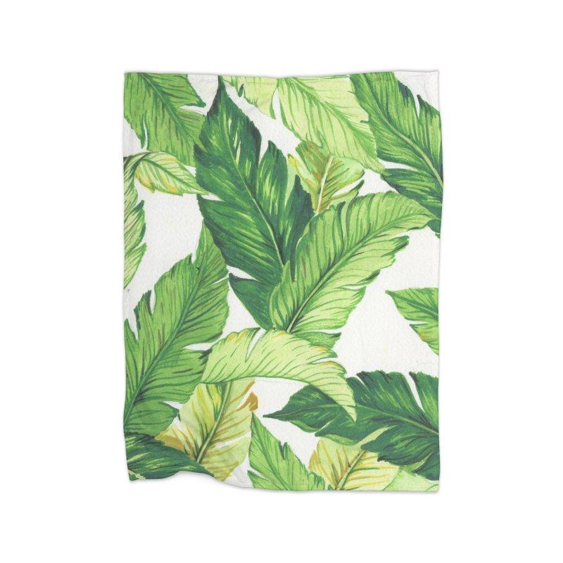 banana jungle Home Blanket by Threadless Artist Shop