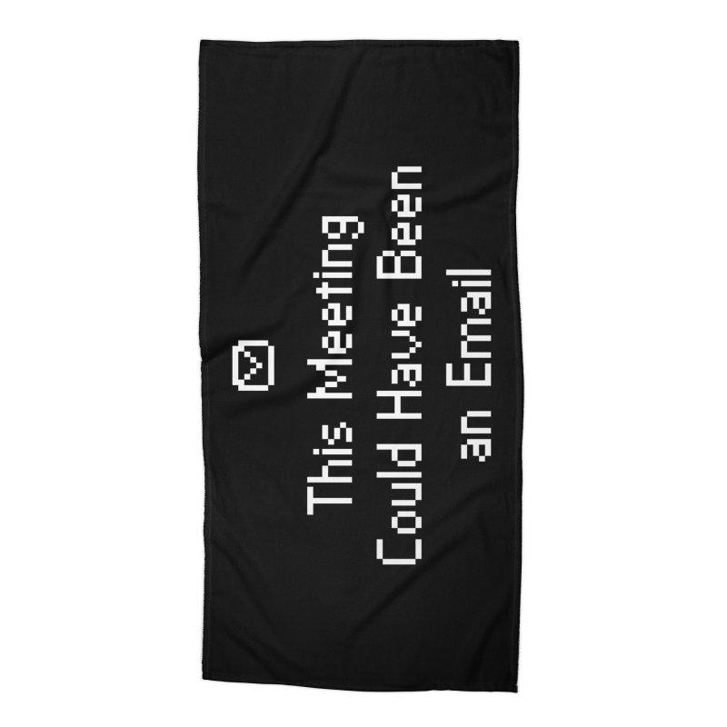 Dear Colleagues Accessories Beach Towel by Threadless Artist Shop