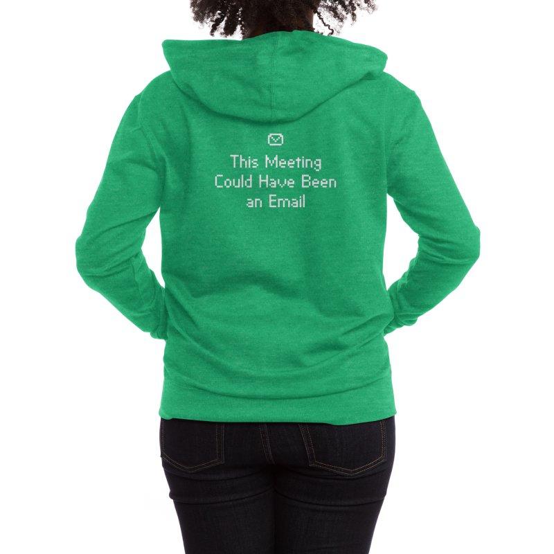Dear Colleagues Women's Zip-Up Hoody by Threadless Artist Shop