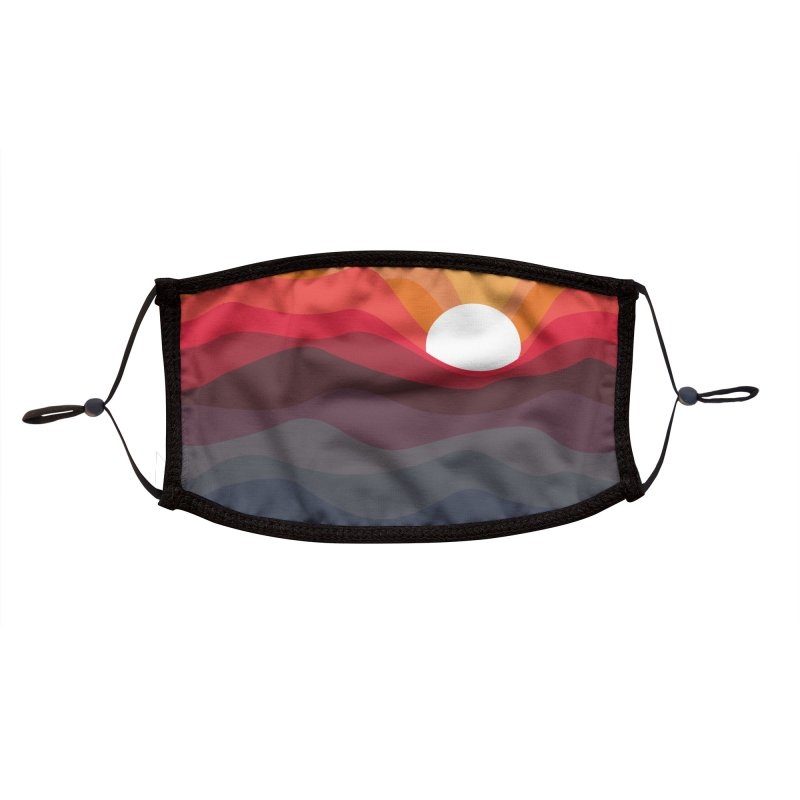Outono Accessories Face Mask by Threadless Artist Shop
