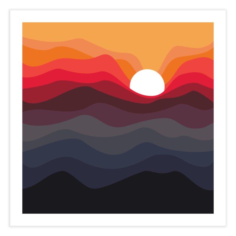 Outono Home Fine Art Print by Threadless Artist Shop