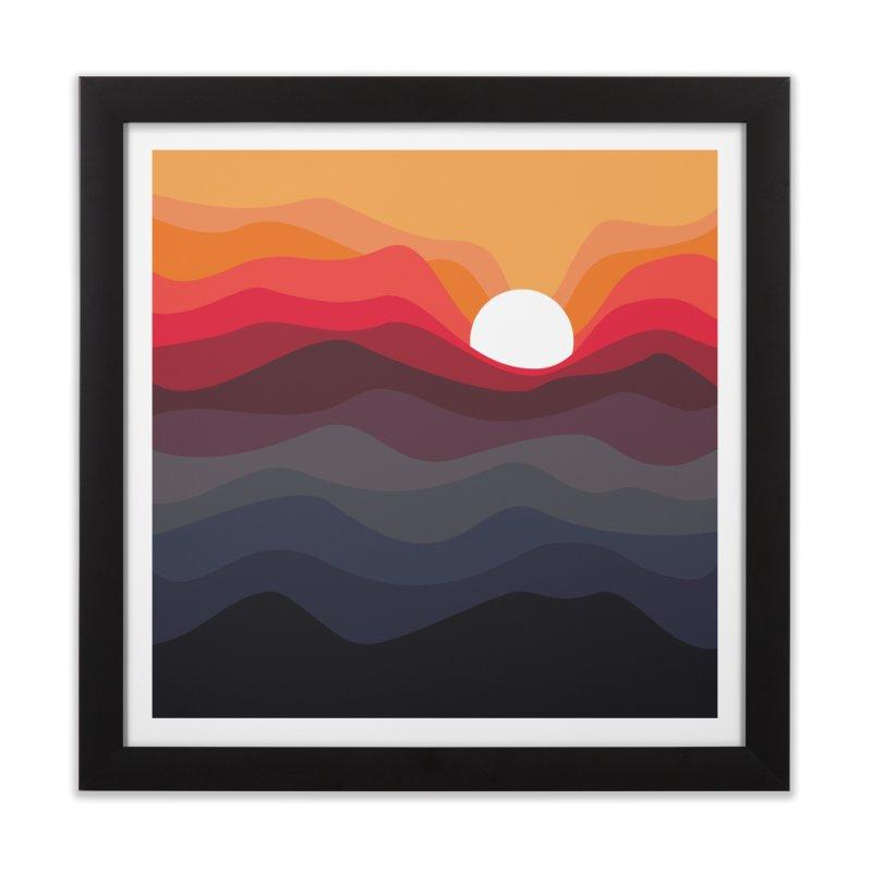 Outono Home Framed Fine Art Print by Threadless Artist Shop
