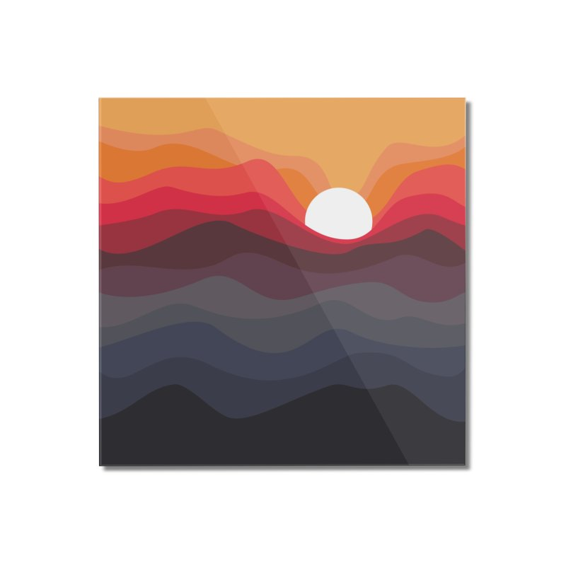 Outono Home Mounted Acrylic Print by Threadless Artist Shop