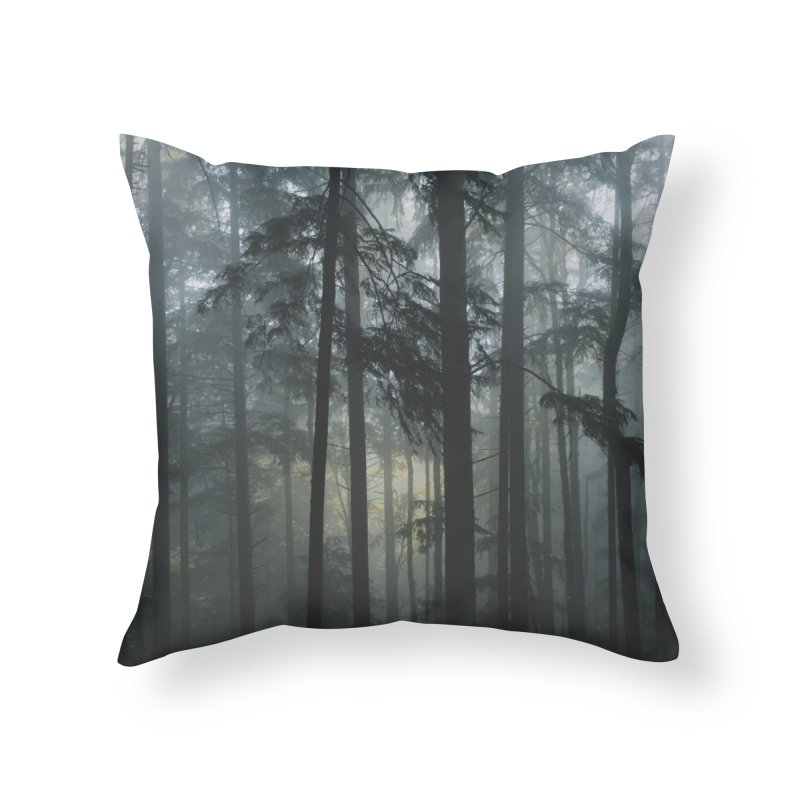 Portland Home Throw Pillow by Threadless Artist Shop