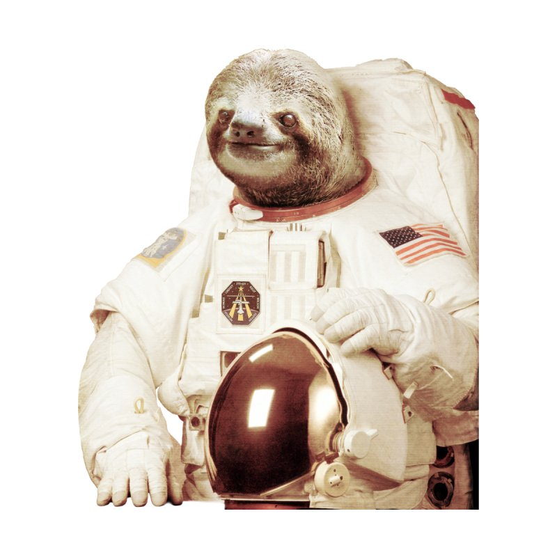 Astronaut Sloth Accessories Phone Case by Threadless Artist Shop