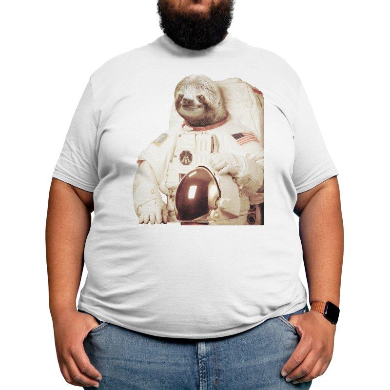 Astronaut Sloth Men's T-Shirt by Threadless Artist Shop