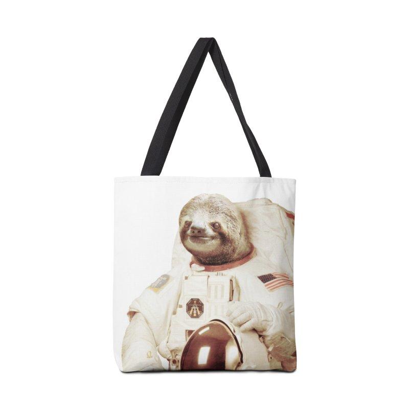 Astronaut Sloth Accessories Bag by Threadless Artist Shop