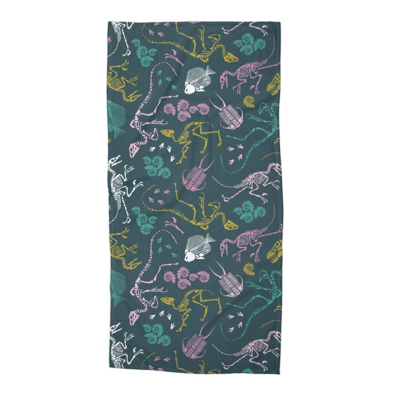Dinosaurs Accessories Beach Towel by Threadless Artist Shop