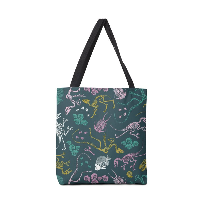 Dinosaurs Accessories Bag by Threadless Artist Shop