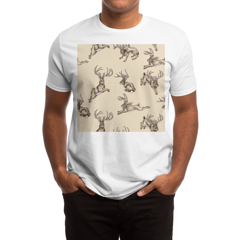 Where the Jackalopes Play Men's T-Shirt by Threadless Artist Shop