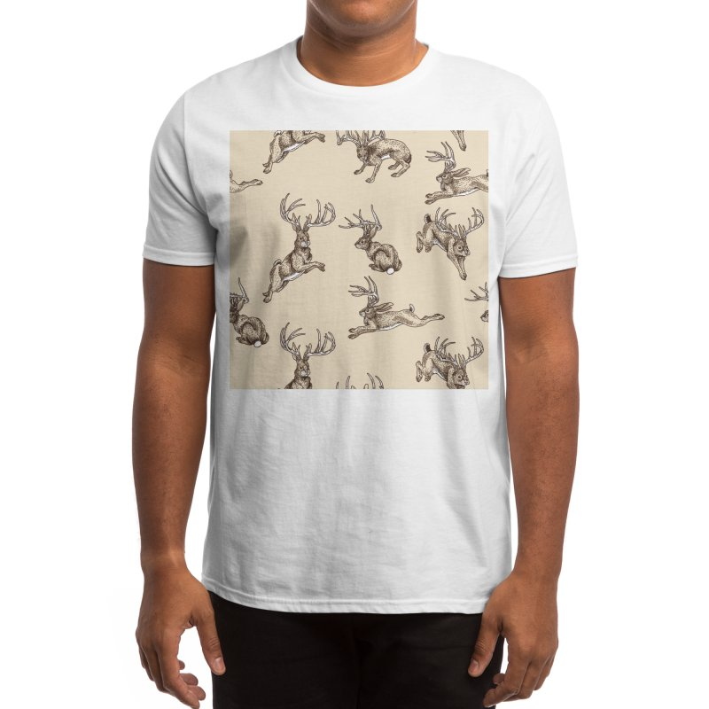 Where the Jackalopes Play Men's T-Shirt by Threadless Artist Shop