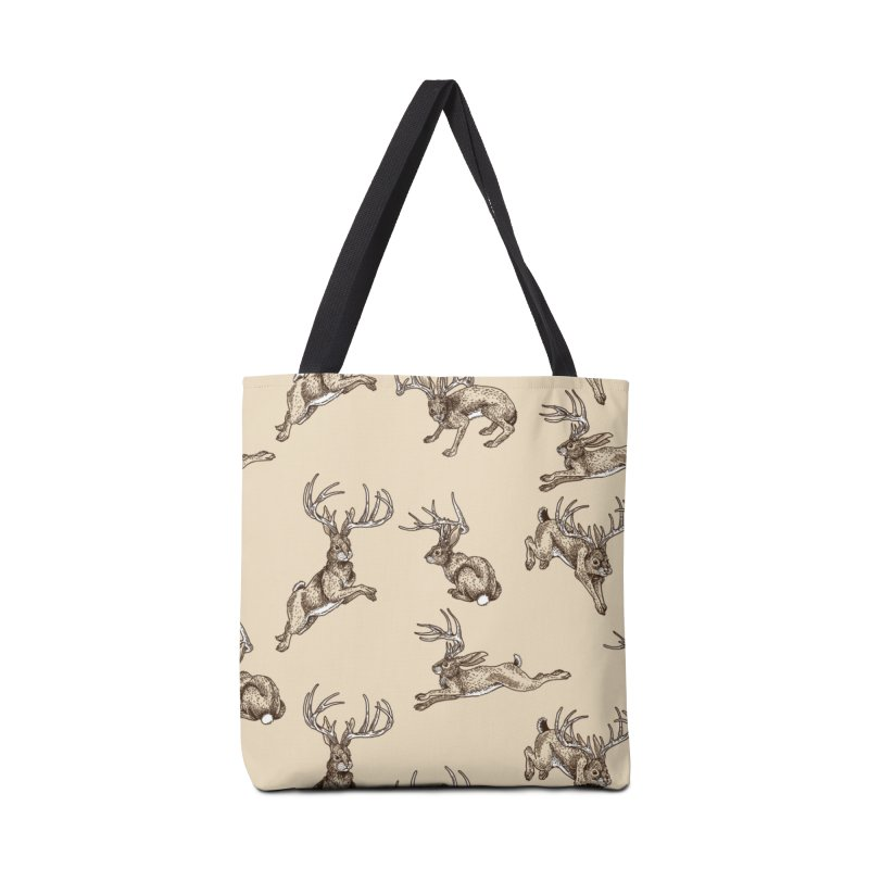 Where the Jackalopes Play Accessories Bag by Threadless Artist Shop