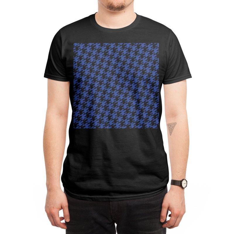 Hound's Tooth Men's T-Shirt by Threadless Artist Shop