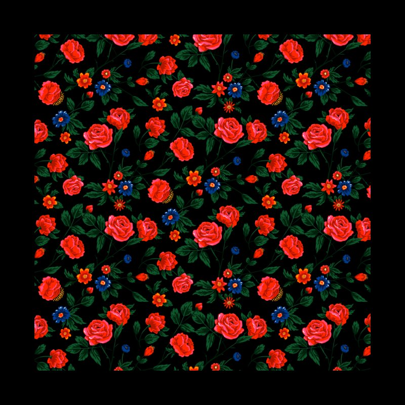 Dark Roses Men's T-Shirt by Threadless Artist Shop
