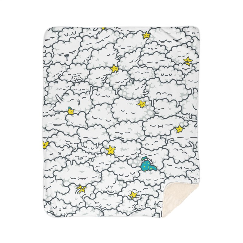 A Cloudy Night Home Blanket by Threadless Artist Shop