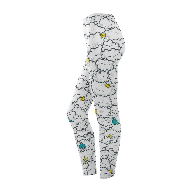 A Cloudy Night Women's Bottoms by Threadless Artist Shop