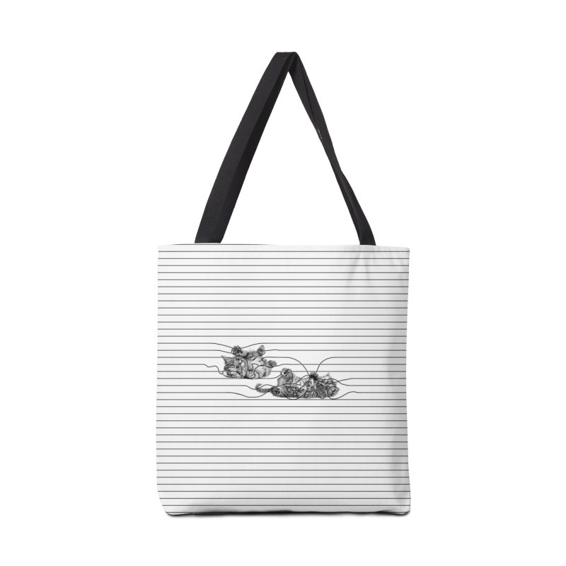 Play with Me Accessories Bag by Threadless Artist Shop
