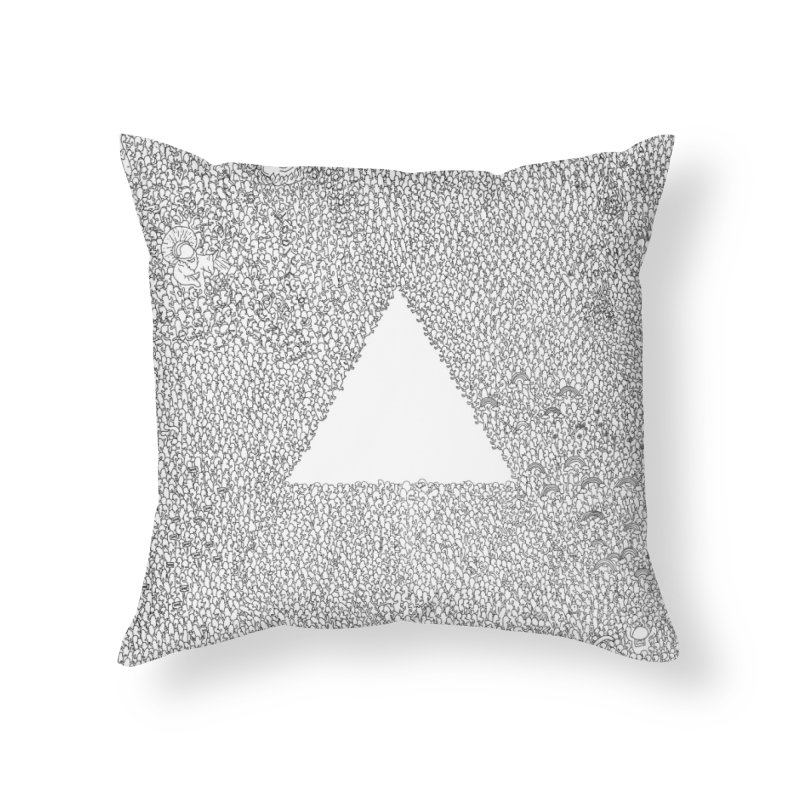 The Infinite Struggle Home Throw Pillow by Threadless Artist Shop