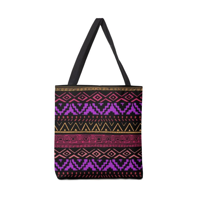 Aztec Madness Accessories Bag by Threadless Artist Shop