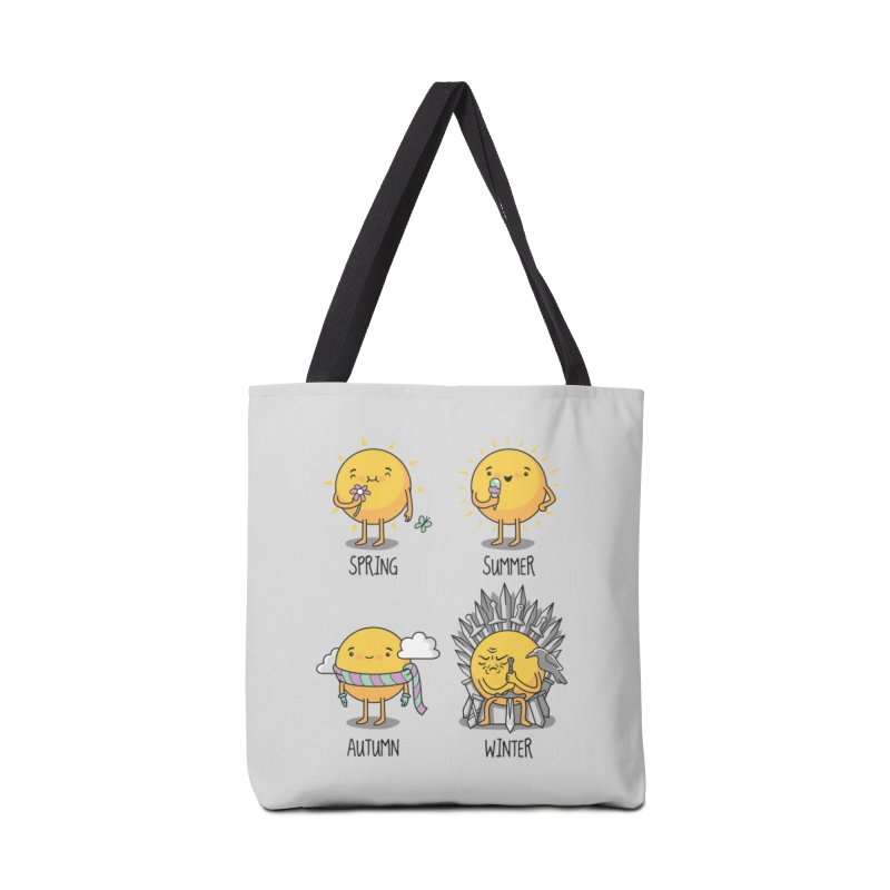 The Seasons Accessories Bag by Threadless Artist Shop