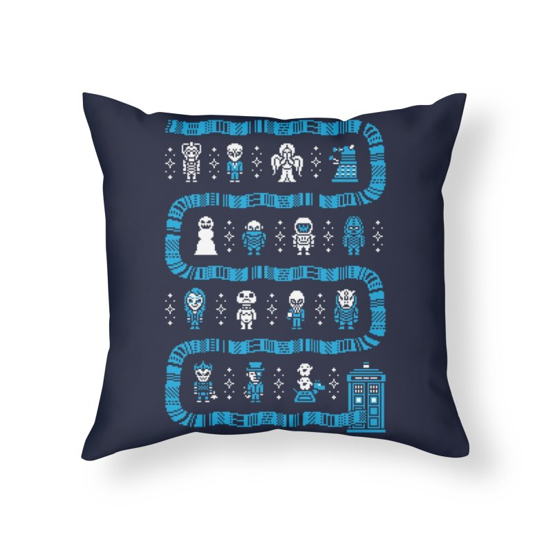 Who's Outside? Home Throw Pillow by Threadless Artist Shop