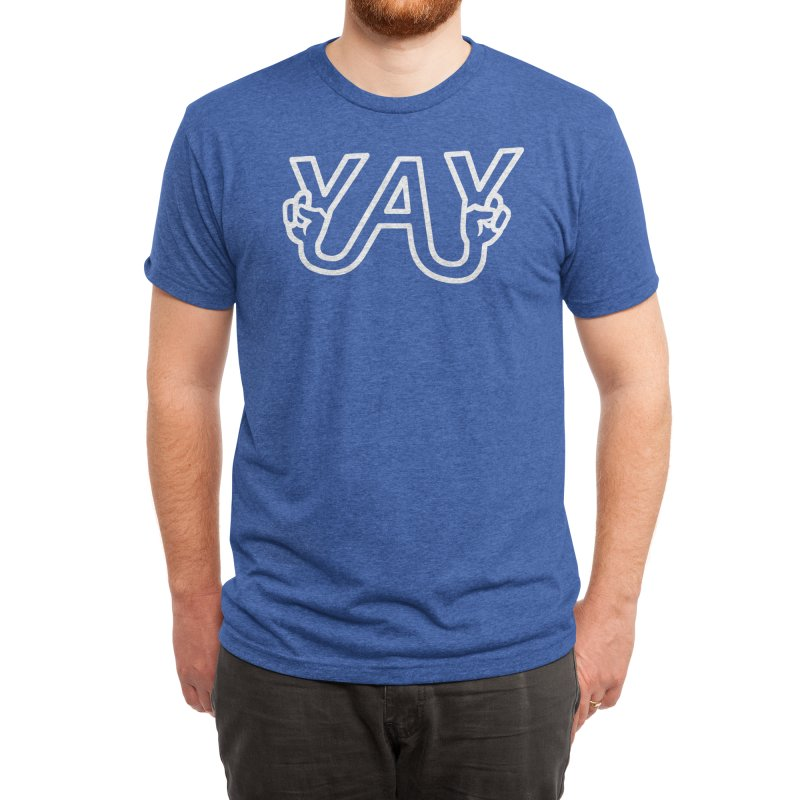 YAY Men's T-Shirt by Threadless Artist Shop