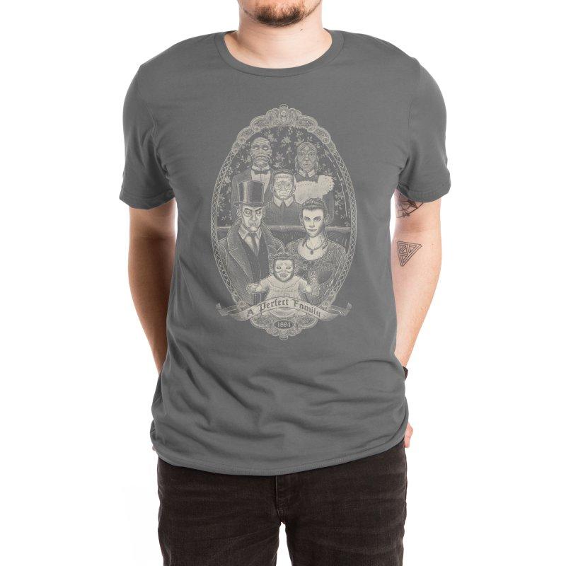 Strange Portrait of a Perfect Family Men's T-Shirt by Threadless Artist Shop
