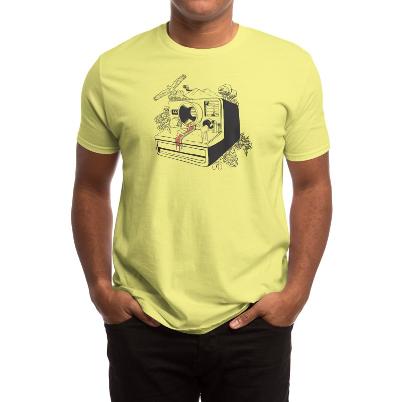Captured Nostalgia Men's T-Shirt by Threadless Artist Shop