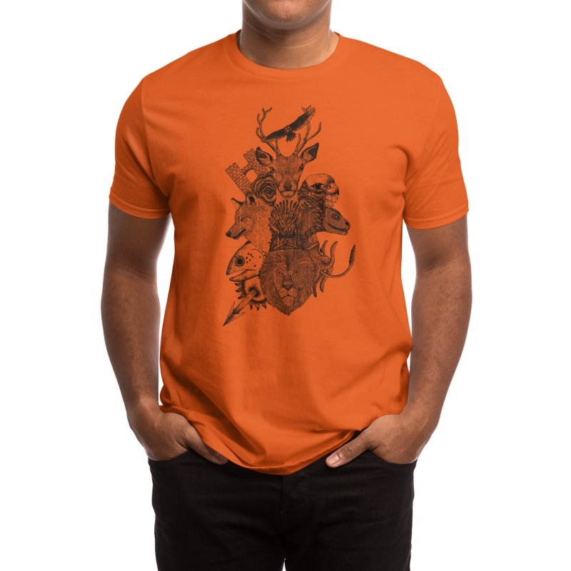 Game of Animals - Beatrizxe Men's T-Shirt by Threadless Artist Shop