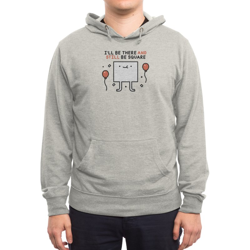 Be square Men's Pullover Hoody by Threadless Artist Shop