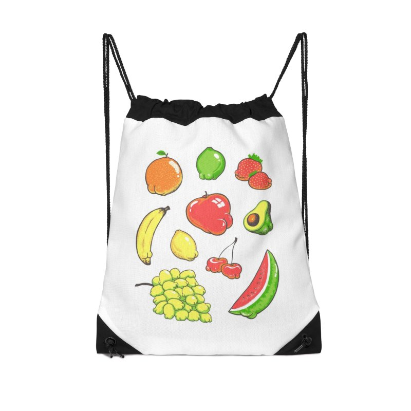 Booty Fruit Accessories Bag by Threadless Artist Shop