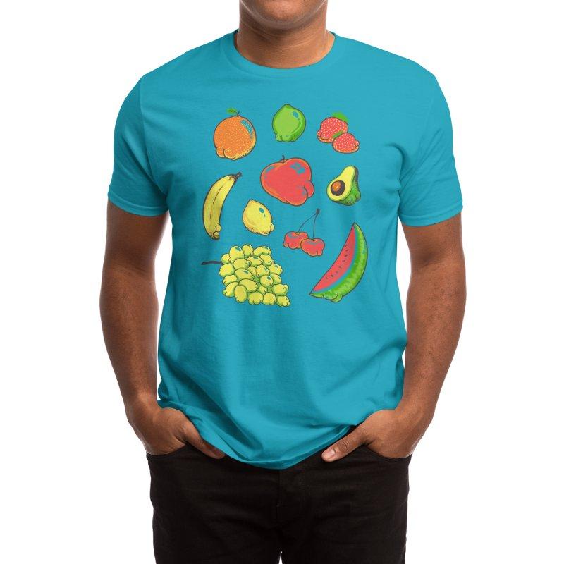 Booty Fruit Men's T-Shirt by Threadless Artist Shop